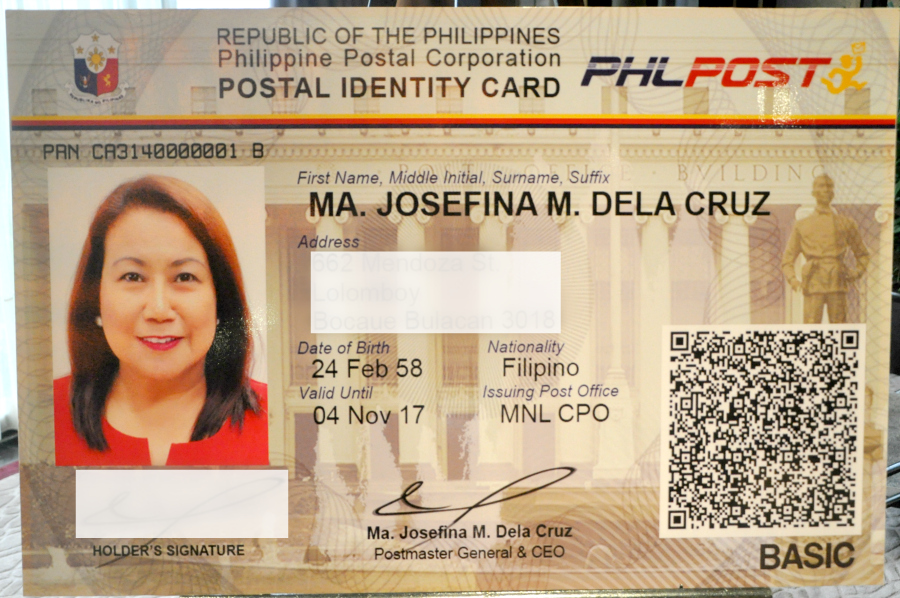 New Postal Id Ok As Passport Application Requirement